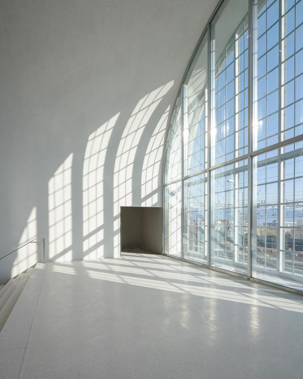 À l'intérieur du nouveau MCBA, premier musée à avoir rejoint Plateforme 10 © Matthieu Gafsou