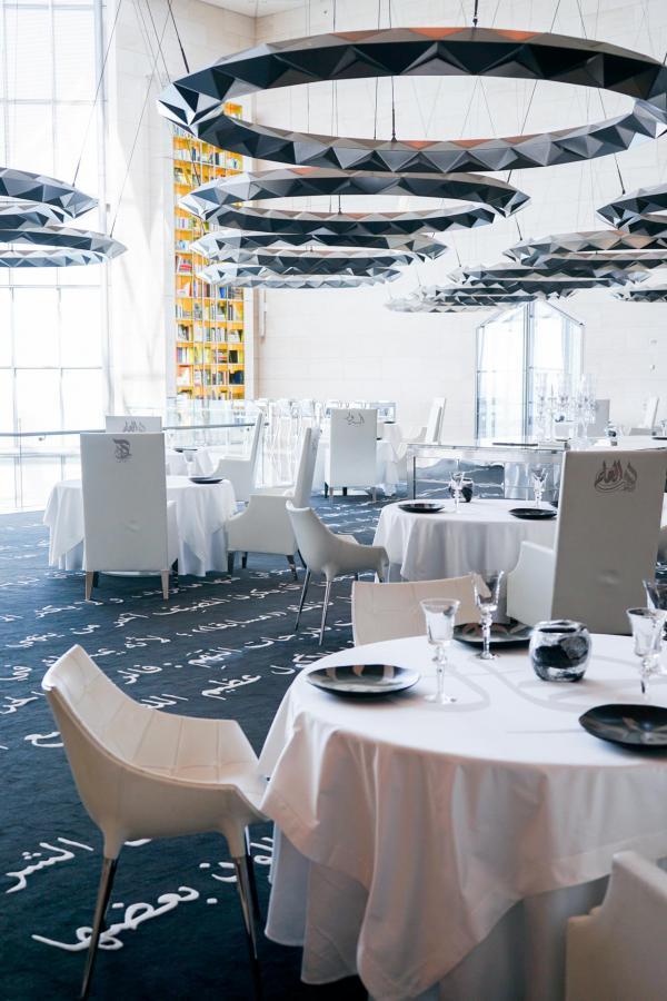 Le restaurant IDAM par Alain Ducasse, au sommet du Musée d'Art Islamique © YONDER.fr