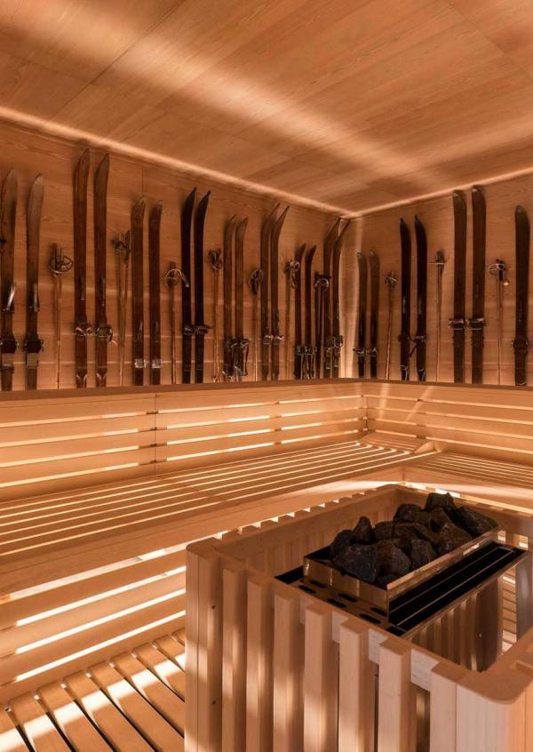 QC Terme Chamonix— sauna © DR