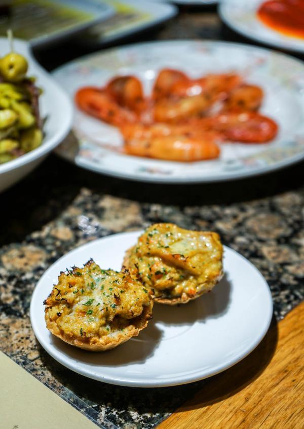 Tartaleta de txangurro chez Ganbara © YONDER.fr