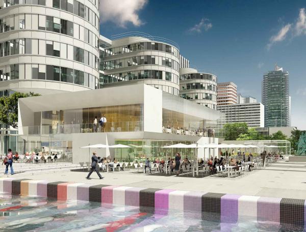 Table Square La Défense © Urban Renaissance
