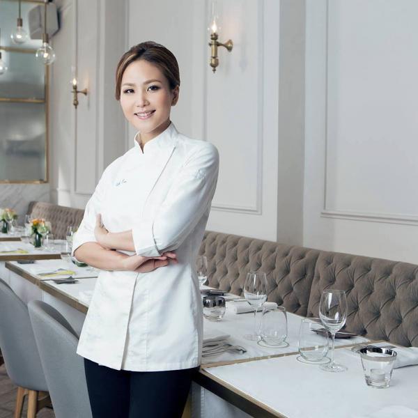 Tate Dining Room & Bar – Portrait de la cheffe Vicky Lau © DR