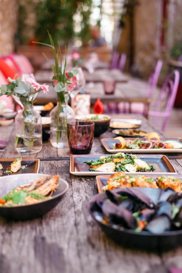Castigno — repas thaï © Alexia Roux
