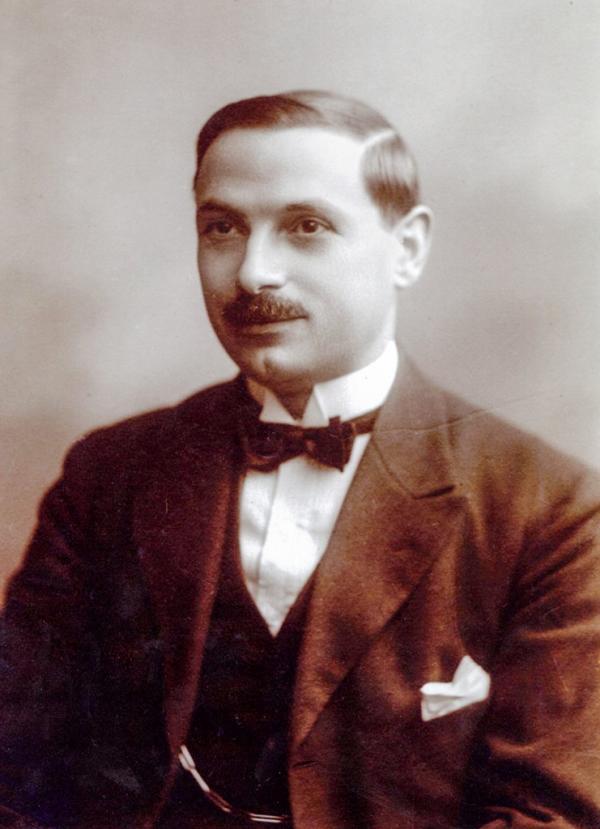 Portrait d'André Terrail qui acheta la Tour d'Argent en 1911 et la propulsa au sommet © La Tour d'Argent