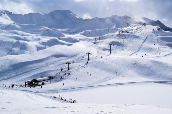 Le domaine skiable du côté de la Tête de Solaise © YONDER.fr
