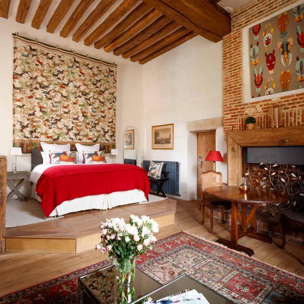 Suite la Tour au Château de Fleury © Eric Sander