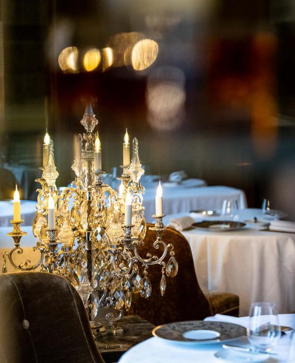 Grand Hôtel du Lion d'Or – Restaurant © Marco Strullu