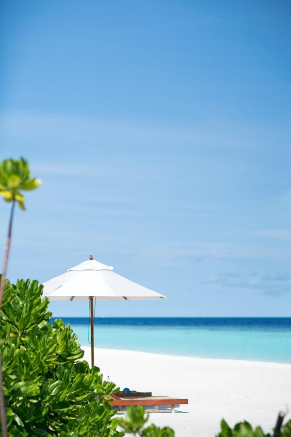Sur la page de l'Anantara Kihavah Maldives Villas © DR