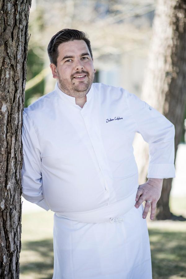 Portrait du chef Julien Lefebvre © Anne-Emmanuelle THION