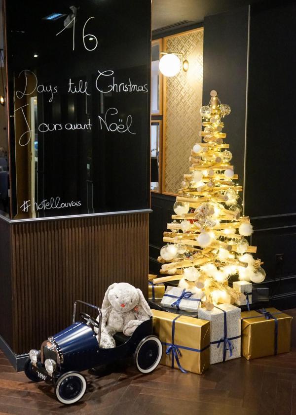 Bientôt Noël à l'Hôtel Square Louvois © YONDER.fr