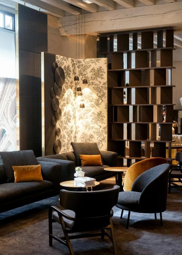 La réception de l'InterContinental Lyon Hôtel-Dieu © YONDER.fr