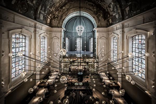 The Jane dévoile un décor particulièrement spectaculaire depuis l'Upper Room Bar © The Jane