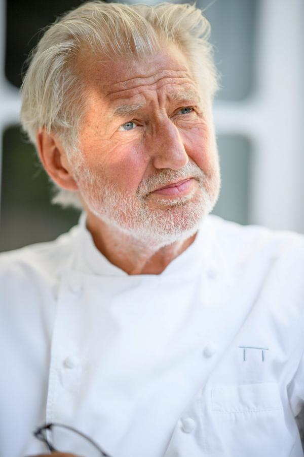 Portrait de Pierre Gagnaire © Jacques GAVARD