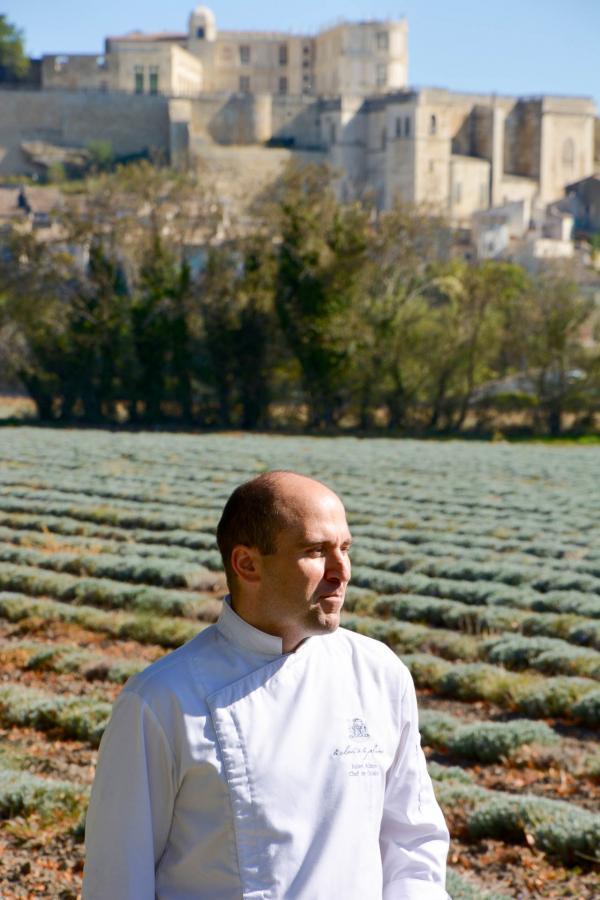 Le chef Julien Allano © Emmanuel Laveran