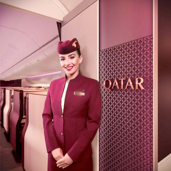 Bienvenue à bord de la Classe Affaires de Qatar Airways © DR