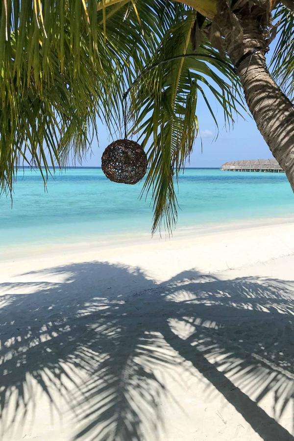 Sur la page de l'Anantara Kihavaha Maldive Villas © Sandrine Mikowsky