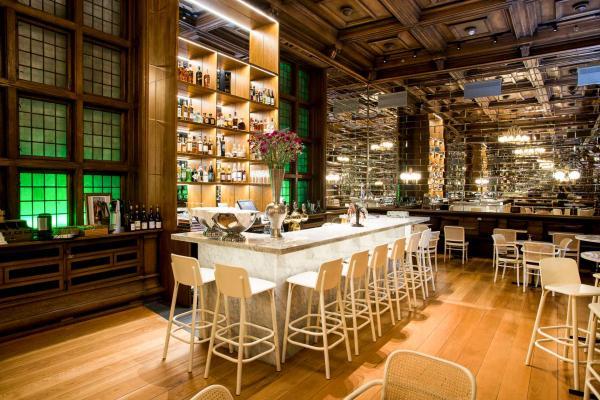Le bar de l'hôtel © Bergen Børs Hotel