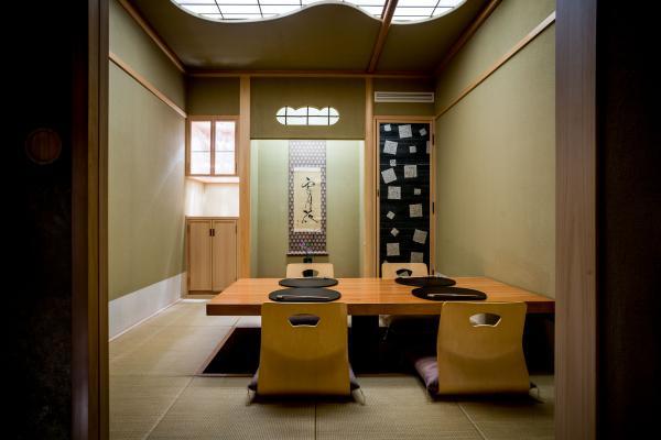 Un salon privatif au sein du restaurant parisien Okuda © DR