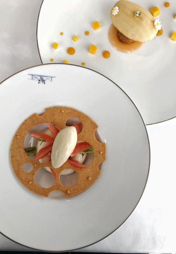 Les succulents desserts du Chef Pâtissier Dominique Costa © YONDER.fr