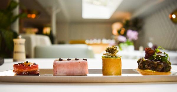 Hors d'oeuvres sublimes pour débuter le déjeuner © Yonder.fr