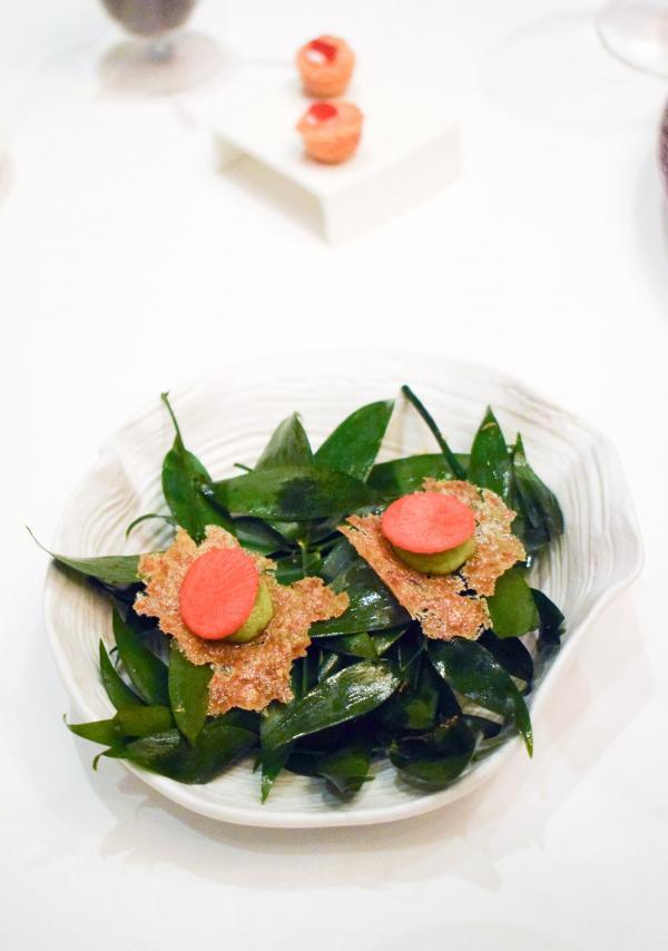 Amuse-bouche ludique, pour débuter les hostilités du dîner © YONDER.fr