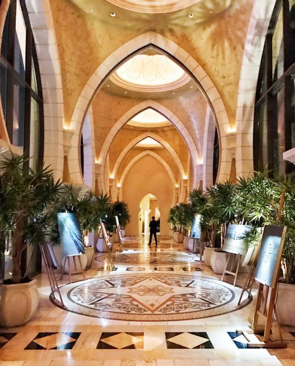Intérieurs orientaux à l'Arabian Court, l'une des trois propriétés du resort © YONDER.fr