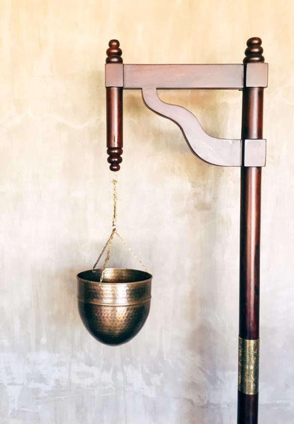 Détail de décoration du spa © Constance Lugger