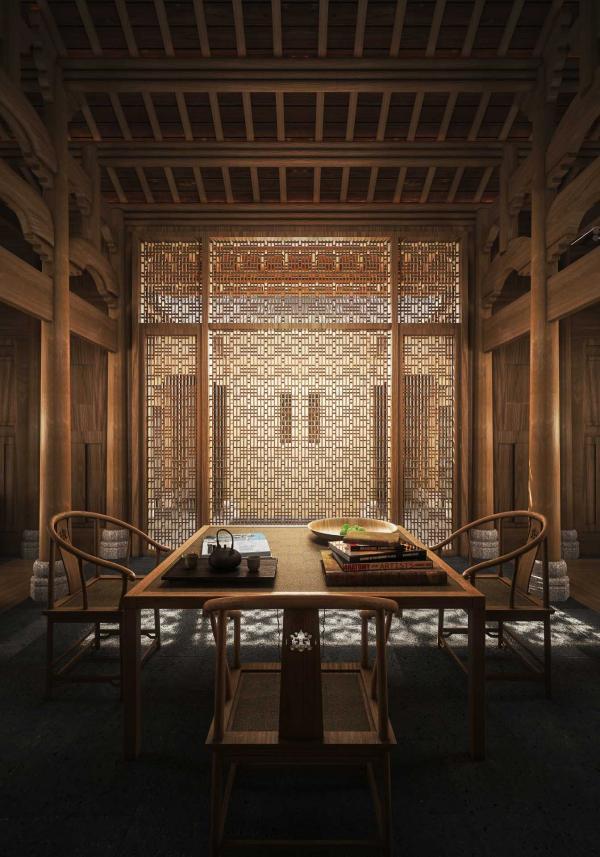 Le salon d'une Antique Villa © Aman
