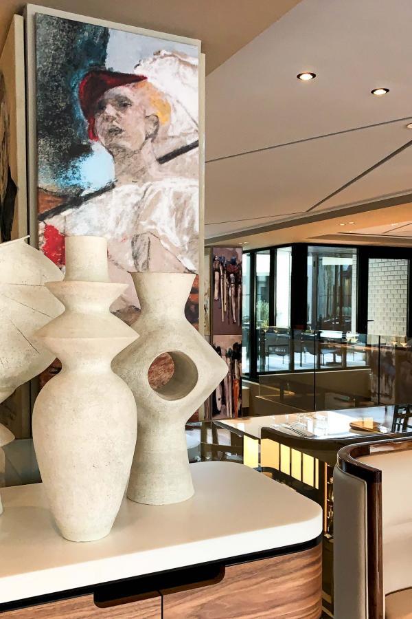 Détails de décoration à l'étage de la Brasserie © YONDER.fr