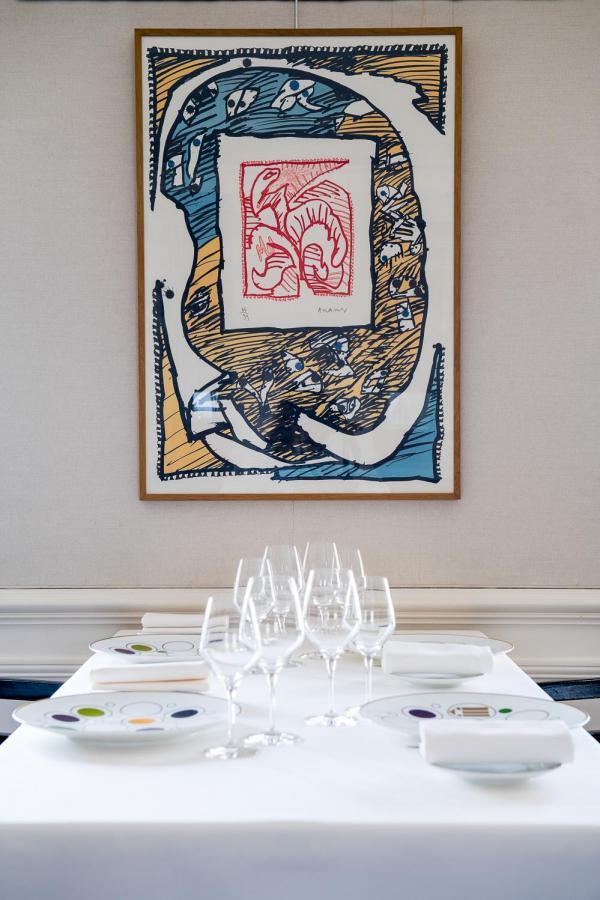 La salle à manger © Anne-Emmanuelle THION