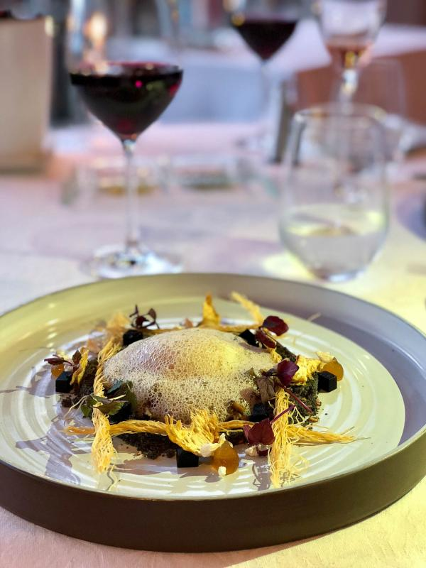 La cuisine étoilée de la table gastronomique de l'hôtel © Emmanuel Laveran
