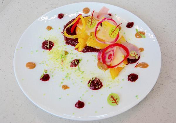 Assiettes bistronomiques réussies au restaurant La City © Emmanuel Laveran