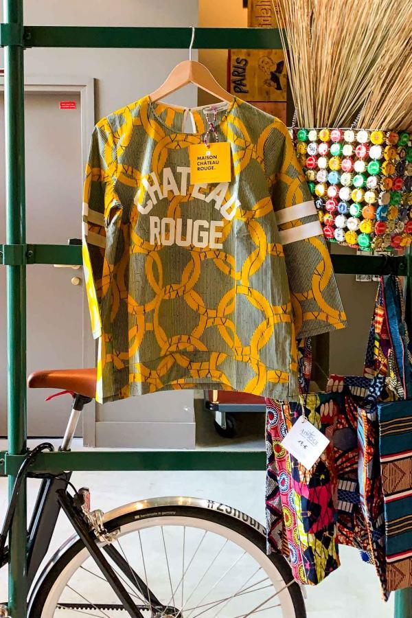 Les produits de Maison Château Rouge disponibles dans le shop de l'hôtel © YONDER.fr