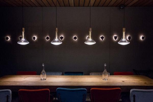 La table d'hôtes du restaurant © Pierre Monetta