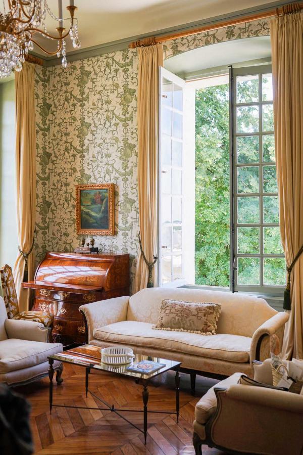 Le décor des chambres et suites de l'Hôtel Château du Grand-Lucé © YONDER.fr