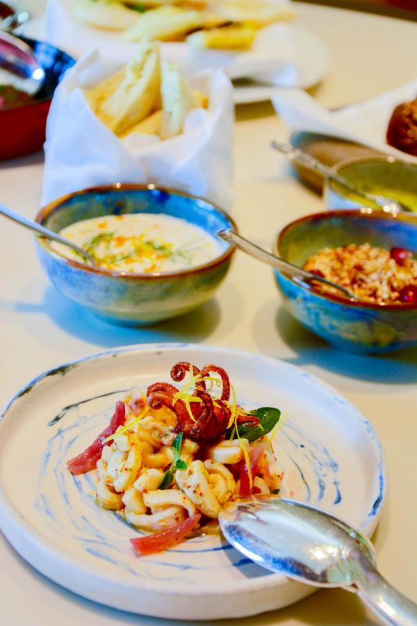 ÔMER est le nouveau restaurant dédié à toutes les Méditerranées par Alain Ducasse © Emmanuel Laveran