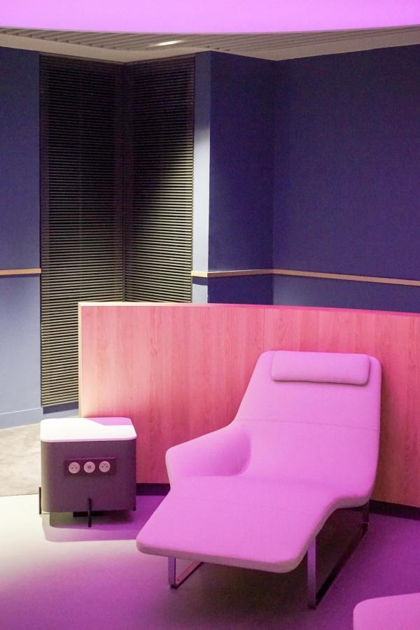 Une zone « Instant Relaxation » pour se détendre dans un confort optimal, au sein de l'espace bien-être © YONDER.fr