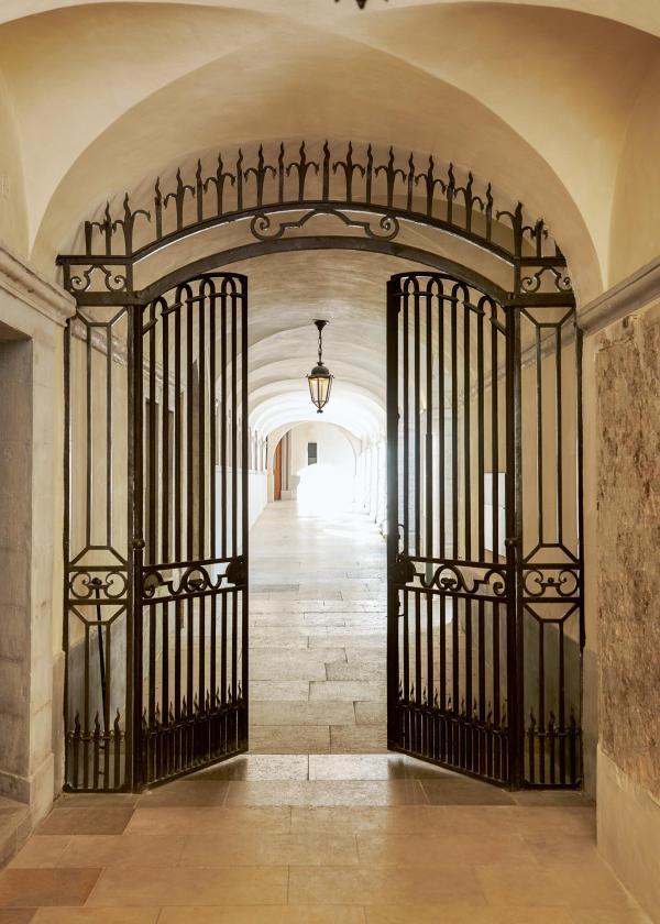 Les galeries de l'hôtel à l'InterContinental Lyon Hôtel-Dieu © Eric Cuvillier