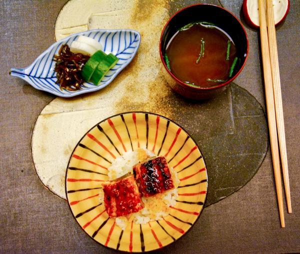 Riiz koshihikari relevé d'anguille laquée © Emmanuel Laveran