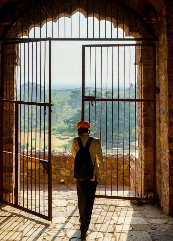 La visite du Bhangarh Fort, au petit matin © YONDER.fr