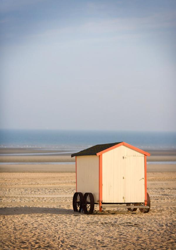 Sur la plage de La Panne (De Panne) © Toerisme De Panne, Westtoer