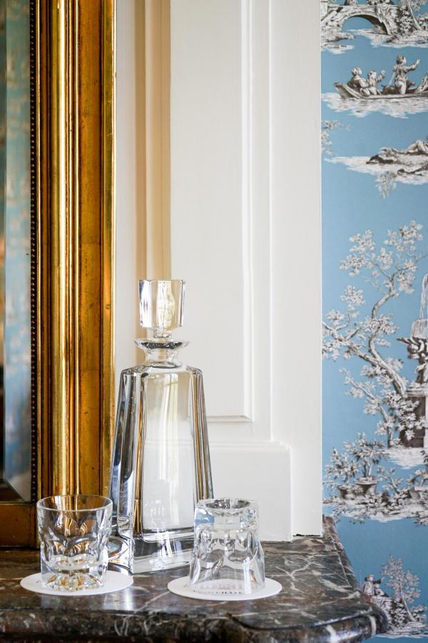 Carafe en cristal dans les chambres © YONDER.fr