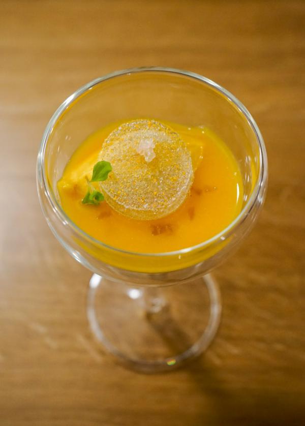 Sorbet et soupe de clémentine au gingembre © YONDER.fr