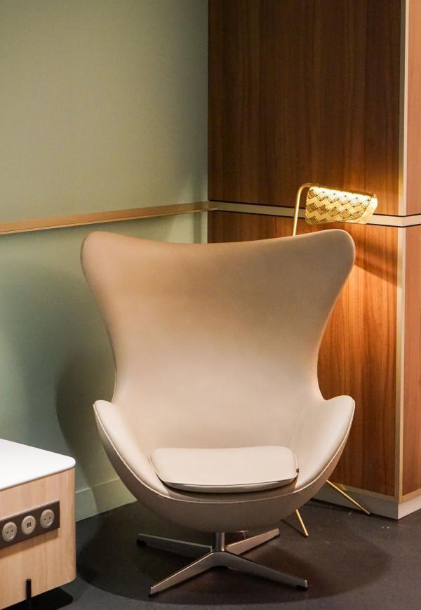 Détails de décoration dans « Le Club » © YONDER.fr
