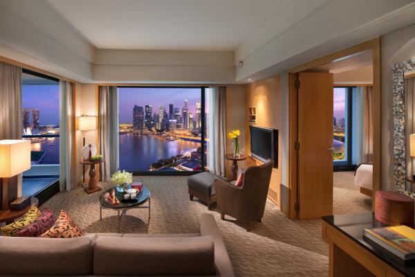 A l'intérieur d'une suite du Mandarin Oriental Singapore | © Mandarin Oriental Hotels Group