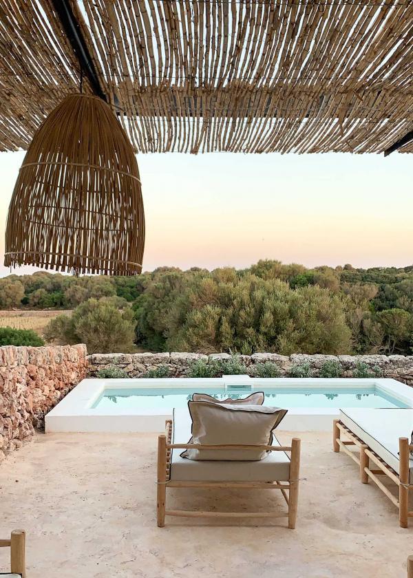 Une majorité de chambres et suites de Torre Vella (Fontenille Menorca) disposent de piscines privatives © YONDER.fr