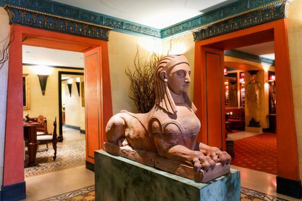 Décoration opulente dans le lobby © Hotel Albergo