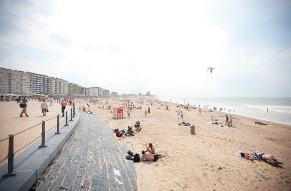 """Ostende """"la reine des plages"""" © Toerisme Oostende"""