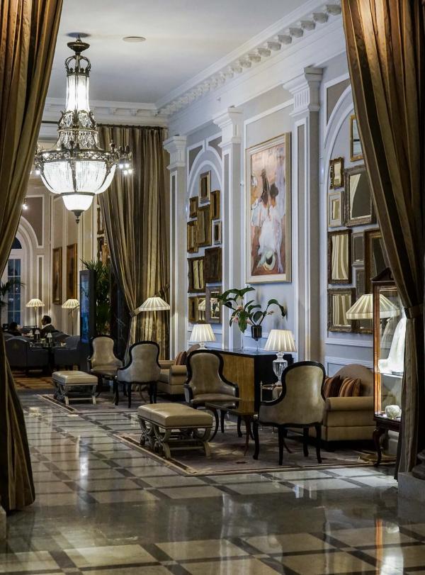 Les intérieurs ultrachics de l'hôtel © YONDER.fr