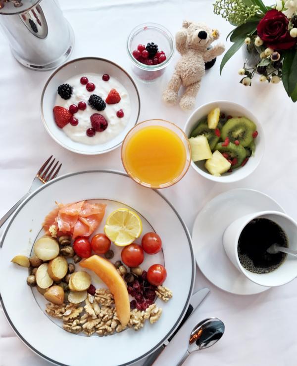 Le buffet du petit-déjeuner offre un large choix © YONDER.fr